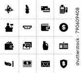 card icons. vector collection...