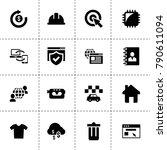 internet icons. vector...   Shutterstock .eps vector #790611094
