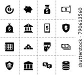 banking icons. vector...