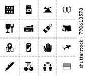 label icons. vector collection... | Shutterstock .eps vector #790613578
