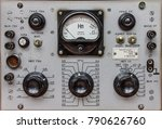 analog control panel | Shutterstock . vector #790626760