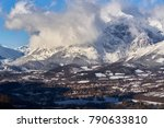 the village of saint bonnet en... | Shutterstock . vector #790633810