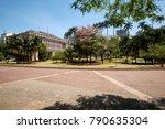 anhangabau valley in downtown... | Shutterstock . vector #790635304