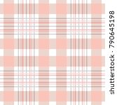 simple checkered print.... | Shutterstock .eps vector #790645198