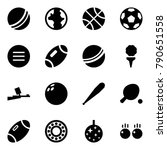origami style icon set   ball... | Shutterstock .eps vector #790651558