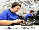 production and assembly of... | Shutterstock . vector #790663210