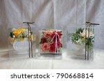 preserved flower arrangement | Shutterstock . vector #790668814