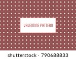 vector hearts and flowers...   Shutterstock .eps vector #790688833