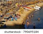 mylopotas bay  ios island ...   Shutterstock . vector #790695184