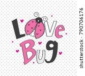 Ladybug Cartoon Vector...