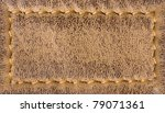 Leather Stitching Texture...