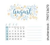 flower design for month ...   Shutterstock .eps vector #790713670