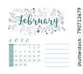 flower design for month ...   Shutterstock .eps vector #790713679