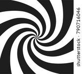 hypnotic psychedelic spiral... | Shutterstock .eps vector #790716046