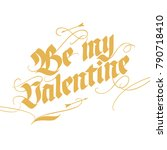 vintage style lettering for...   Shutterstock .eps vector #790718410