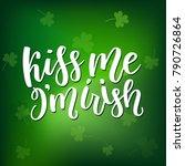 saint patricks day greeting... | Shutterstock .eps vector #790726864