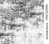 black  grey grunge background | Shutterstock . vector #790732990