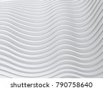 wave band surface abstract... | Shutterstock . vector #790758640