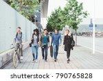 group of friends multiethnic... | Shutterstock . vector #790765828