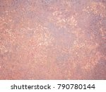 rusty  rusted  old metal   tin... | Shutterstock . vector #790780144