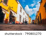 mexico   september 27  people... | Shutterstock . vector #790801270