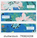 hand drawn creative universal... | Shutterstock .eps vector #790824208