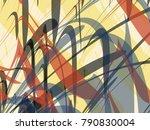 abstract vector background.... | Shutterstock .eps vector #790830004