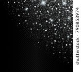 vector eps 10 sparkling shiny... | Shutterstock .eps vector #790853974