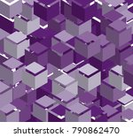 abstract geometric background...   Shutterstock .eps vector #790862470