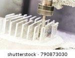 industrial metalworking cutting ... | Shutterstock . vector #790873030