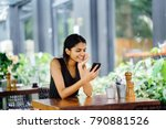 candid portrait of an... | Shutterstock . vector #790881526