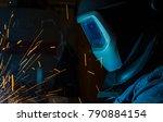 welder  craftsman  erecting... | Shutterstock . vector #790884154