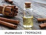 a transparent bottle of...   Shutterstock . vector #790906243