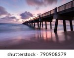 Fishing Pier In Florida At...