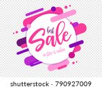 sale badge  logo  design | Shutterstock .eps vector #790927009