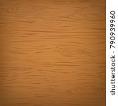 brown square wooden cutting ... | Shutterstock .eps vector #790939960