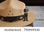 National Park Service Figurine with Ranger Hat