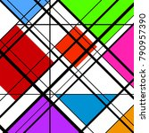 abstract geometric background ...   Shutterstock .eps vector #790957390