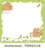 Brown Bunnies Jumping To...