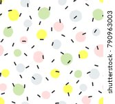 abstract seamless pattern with... | Shutterstock .eps vector #790963003