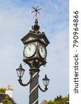 Historical Street Clock In...