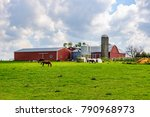 Farm Buildings In Amish Countr...