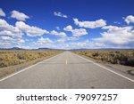 Desert Highway To The Horizon...