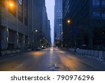a landscape phot of downtown... | Shutterstock . vector #790976296