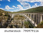 Panorama Of The Bridge De...
