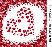 sale  valentine's day  heart | Shutterstock .eps vector #790981894