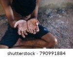selective soft focus. hands... | Shutterstock . vector #790991884