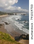 crescent beach  oregon | Shutterstock . vector #791019703