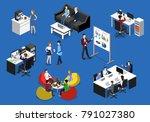 isometric vector illustration...   Shutterstock .eps vector #791027380