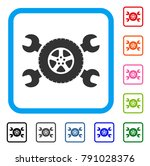 tire service wrenches icon.... | Shutterstock .eps vector #791028376